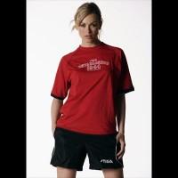 STIGA Shirt Feeling  red XL