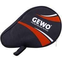 Gewo Matser θήκη σε σχήμα ρακέταςπινγκ πονγκ μαύρη κόκκινη