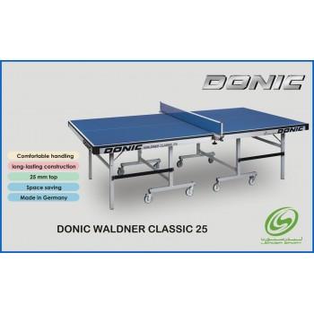 Donic Waldner Classic 25 αγωνιστικό τραπέζι πινγκ πονγκ με έγκριση ITTF