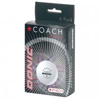 Donic Coach P40+* Cell Free κουτάκι με 6 άσπρα μπαλάκια   Πολύ καλά  πλαστικά μπαλάκια. Ανθεκτικά και συμμετρικά.