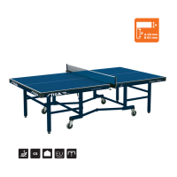 STIGA Premium Compact ITTF αγωνιστικο τραπέζι πινγκ πονγκ